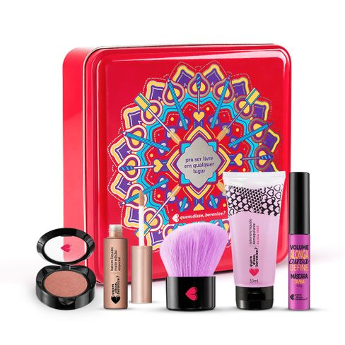kit-namorados--pincel---mini-blush---batom---mini-sabonete-demaquilante---mini-mascara---lata-cereja